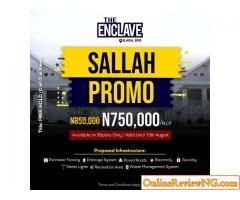 The Enclave Land Sale Promo