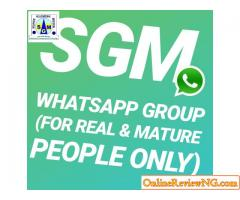 SGM WHATSAPP GROUP  (Real & Mature Only)