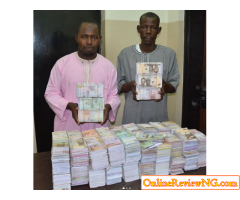 EFCC Nabs Currency Counterfeiters, Confiscates N45m Fake Notes