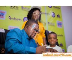 Mummy Calm Down: Oreofeoluwa Becomes Estate Ambassador In Abuja (PHOTOS)