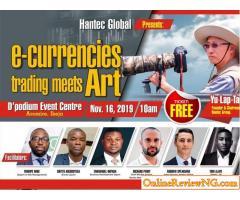 e-Currencies Trading  Meets Art by Hantec Global